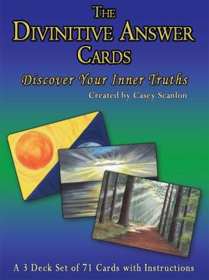 Divinitive Answer Cards by Casey Scanlon
